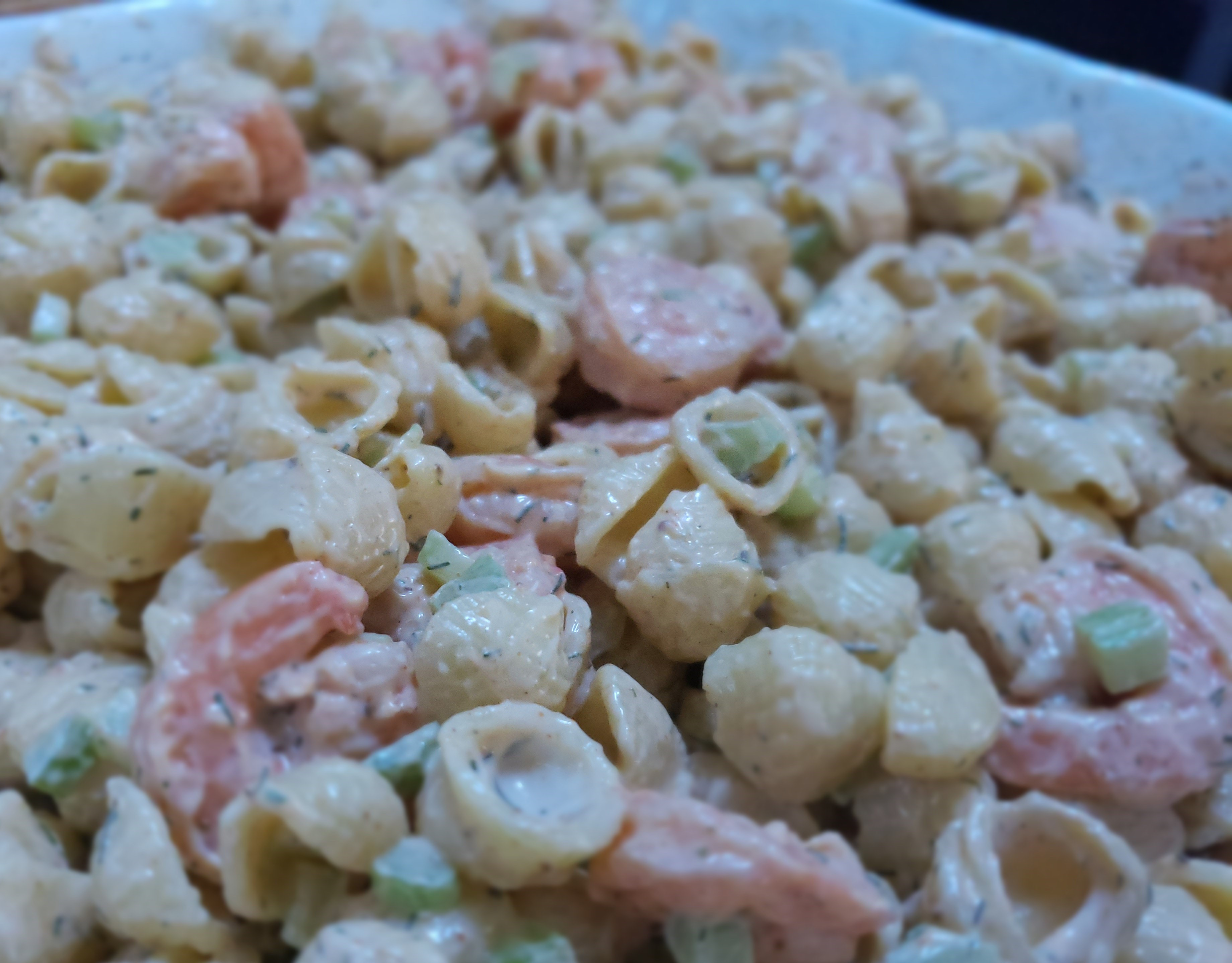 Old Bay Shrimp Pasta Salad My Dragonfly Cafe